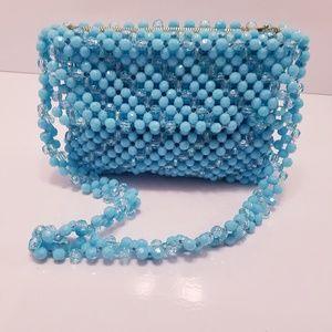Vintage Delill beaded shoulder handbag 50's-60's
